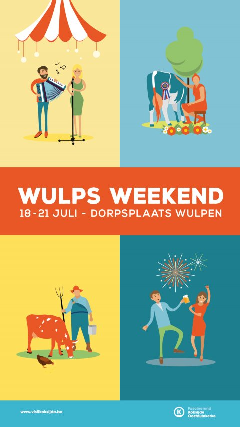 affiche Wulps Weekend 2019