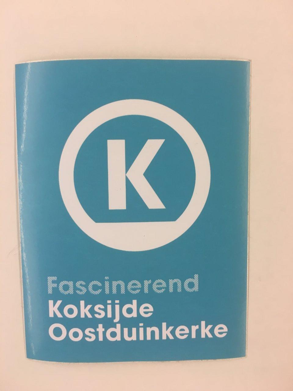 sticker Koksijde